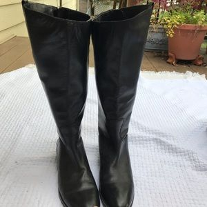 Sam Edelman size 10 Penny wide calf boots
